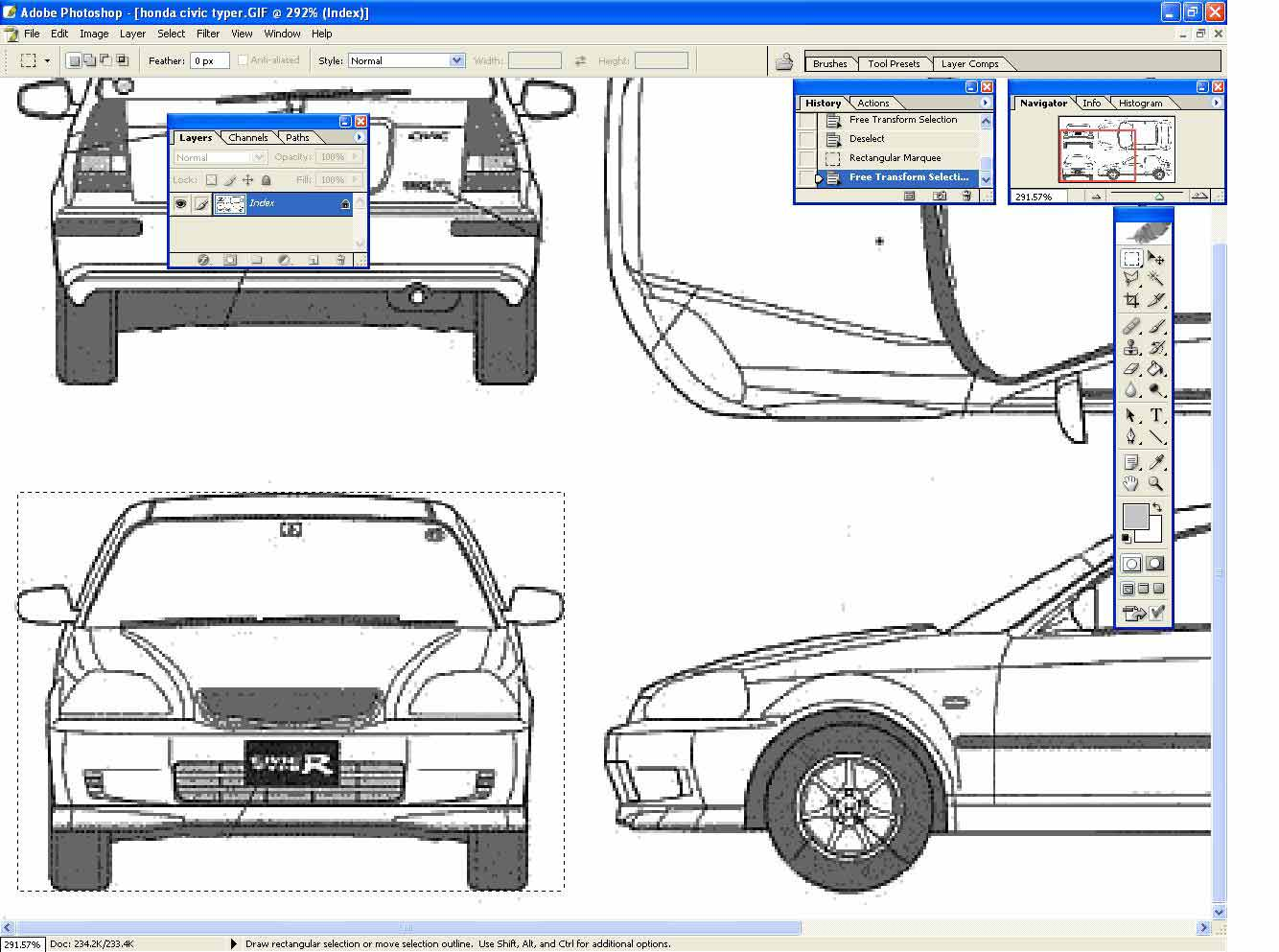 Assads designs blueprints setup tutorial copy it filenew leave the settings default paste it in the new file filesave for web set quality to low and save as civic front malvernweather Choice Image